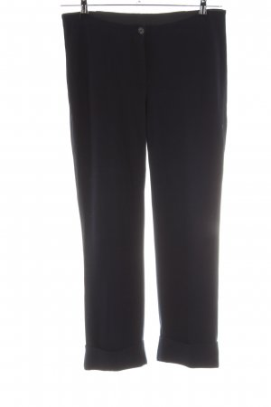 Marc Cain Stretch broek zwart zakelijke stijl