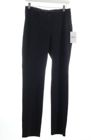 Marc Cain Stretchhose dunkelblau minimalistischer Stil