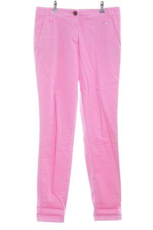 Marc Cain Stretchhose pink schlichter Stil