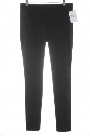 Marc Cain Stretchhose schwarz Casual-Look