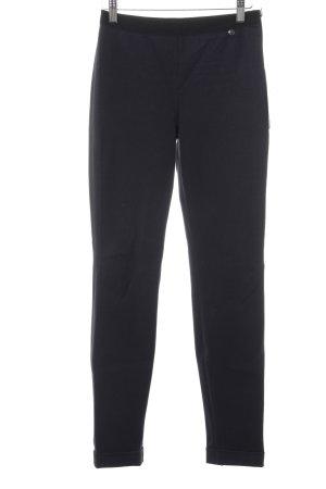 Marc Cain Stretchhose schwarz-dunkelblau schlichter Stil