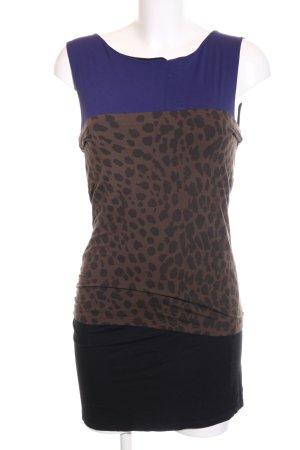 Marc Cain Stretch jurk luipaardprint feest stijl