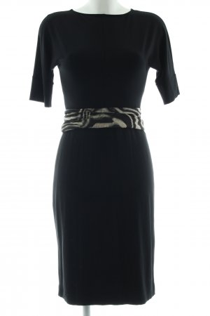 Marc Cain Stretch jurk zwart casual uitstraling