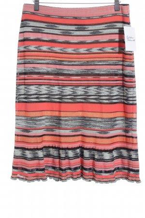 Marc Cain Stretchrock Streifenmuster Casual-Look