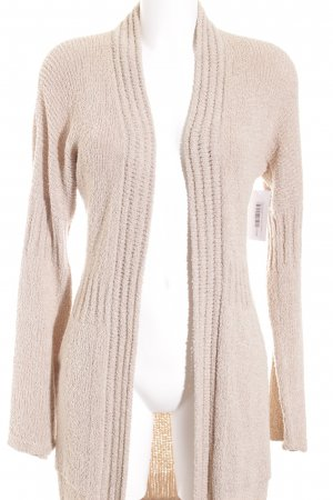 Marc Cain Strick Cardigan hellbeige Casual-Look