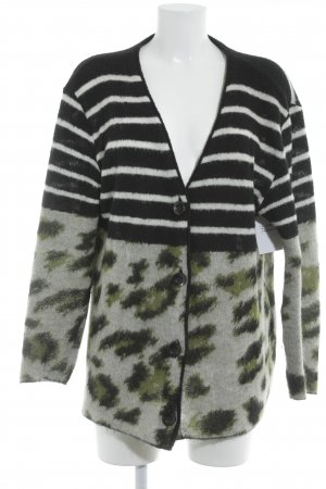 Marc Cain Strick Cardigan Mustermix Casual-Look