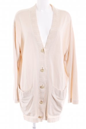 Marc Cain Strick Cardigan nude Casual-Look