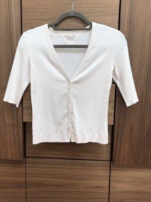 Marc Cain Chaqueta estilo camisa blanco puro