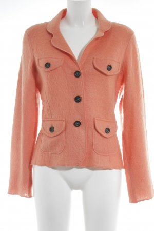 Marc Cain Strickblazer apricot Street-Fashion-Look