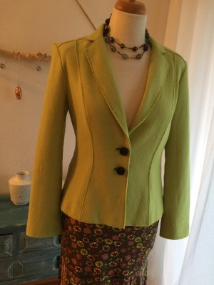 Marc Cain Knitted Blazer pale green