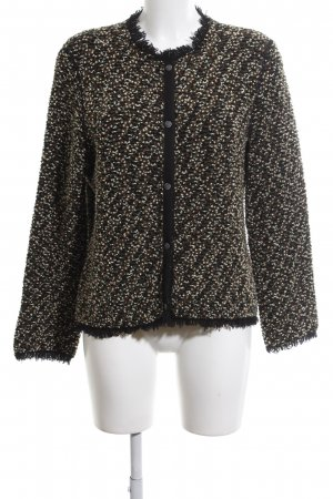 Marc Cain Strickjacke Allover-Druck Vintage-Look