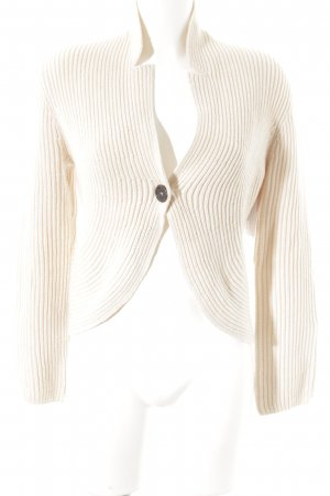 Marc Cain Strickjacke creme Casual-Look