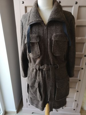 Marc Cain Strickjacke Long Pullover Wolle