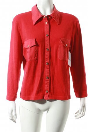 Marc Cain Strickjacke rot Casual-Look