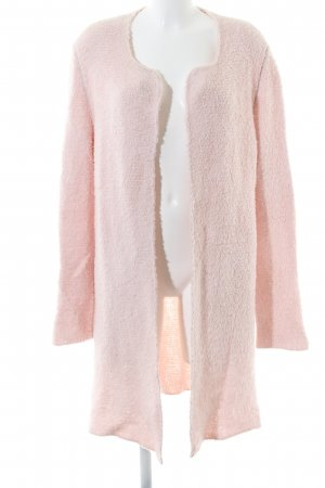 Marc Cain Knitted Coat pink casual look