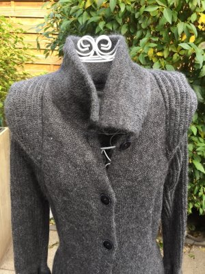 Marc Cain Knitted Coat grey
