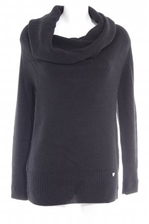 Marc Cain Strickpullover schwarz Casual-Look