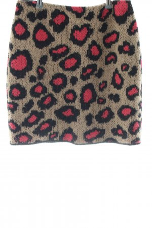 Marc Cain Knitted Skirt allover print casual look
