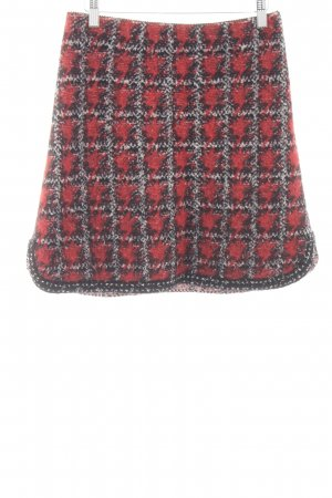 Marc Cain Knitted Skirt check pattern casual look