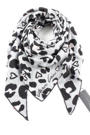 Marc Cain Gebreide sjaal luipaardprint casual uitstraling