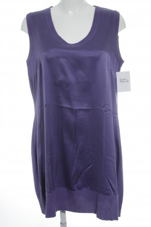 Marc Cain Knitted Top lilac casual look