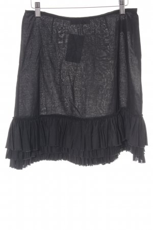 Marc Cain Broomstick Skirt black casual look