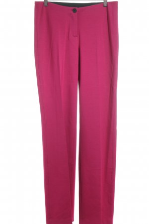 Marc Cain Sweathose pink-schwarz Casual-Look