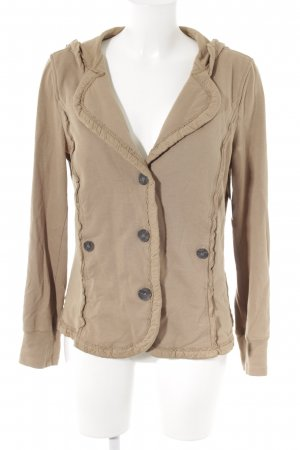 Marc Cain Sweatjacke camel Casual-Look