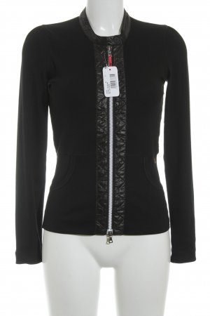 Marc Cain Giacca fitness nero stile casual