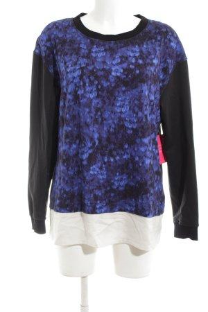 Marc Cain Sweatshirt schwarz-blau Casual-Look