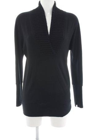 Marc Cain Sweatshirt schwarz Casual-Look