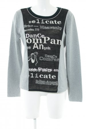 Marc Cain Sweat Shirt printed lettering casual look