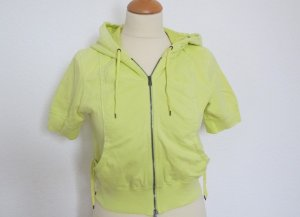 Marc Cain Shirt Jacket yellow cotton