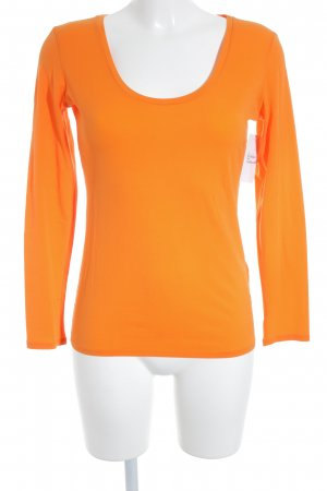 Marc Cain Sweatshirt orange klassischer Stil