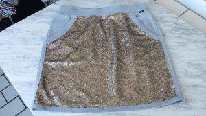 MARC CAIN Sweatshirt Rock mit Pailetten, grau, Gr. 38 (4) sehr bequem