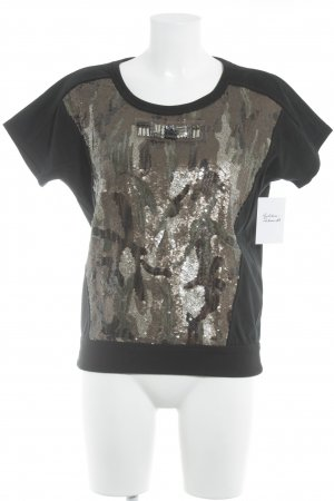 Marc Cain T-Shirt abstraktes Muster Street-Fashion-Look