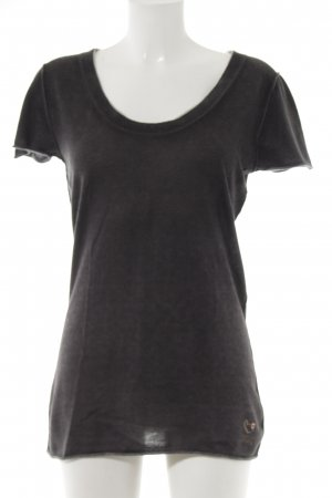 Marc Cain T-shirt antraciet casual uitstraling