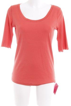 Marc Cain T-Shirt apricot-lachs Metallelemente