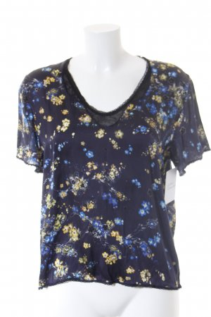 Marc Cain T-Shirt Blumenmuster Casual-Look