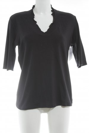 Marc Cain T-Shirt dunkelblau Casual-Look