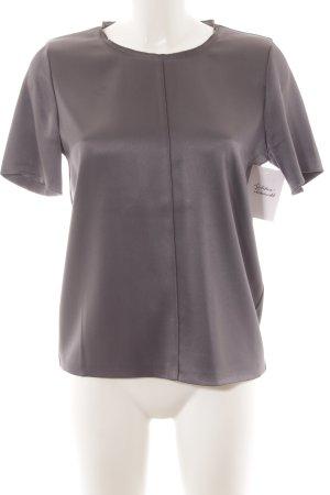 Marc Cain T-Shirt dunkelgrau Glanz-Optik