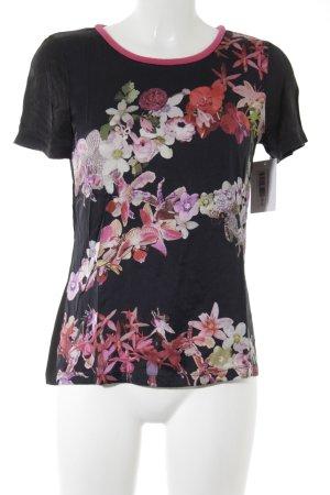 Marc Cain T-Shirt florales Muster Elegant