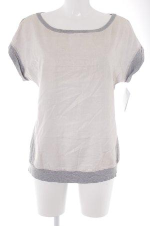 Marc Cain T-Shirt hellgrau-hellbeige Casual-Look