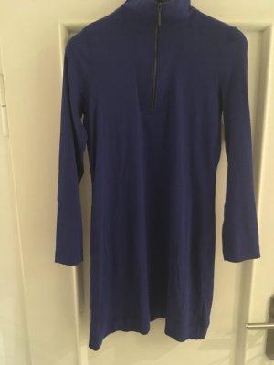 Marc Cain Robe t-shirt bleu acier