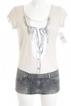 Marc Cain T-Shirt mehrfarbig Casual-Look