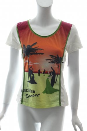 Marc Cain T-Shirt Motivdruck Casual-Look