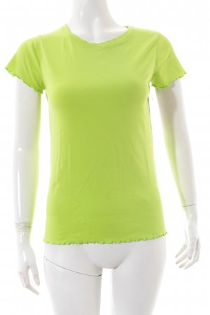 Marc Cain T-Shirt neongrün Casual-Look