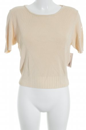Marc Cain T-Shirt nude Glanz-Optik