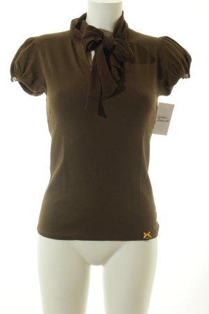 Marc Cain T-Shirt olivgrün klassischer Stil