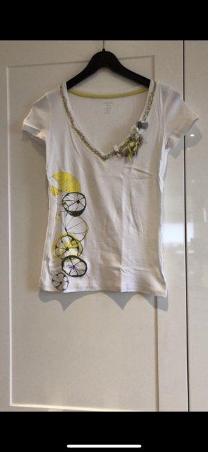 Marc Cain T-Shirt Rippshirt Gr S
